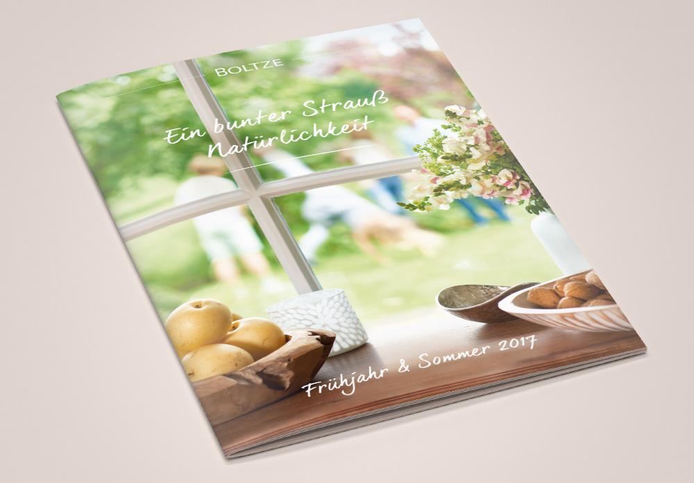 Boltze Katalogcover Frühling