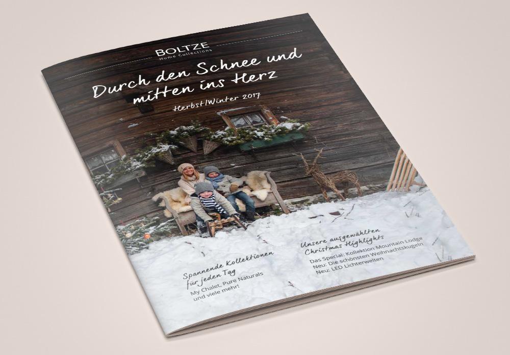 Boltze Katalogcover Weihnachten