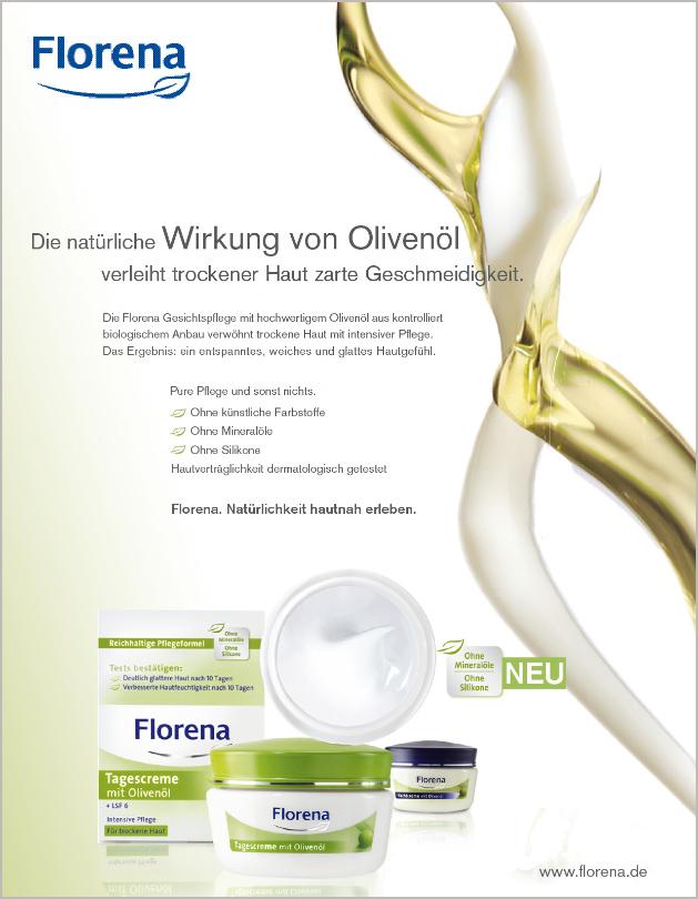 Florena Olivenöl Tagescreme