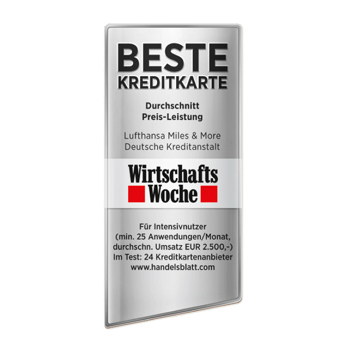 Siegel für Handelsblatt & Wirtschaftswoche