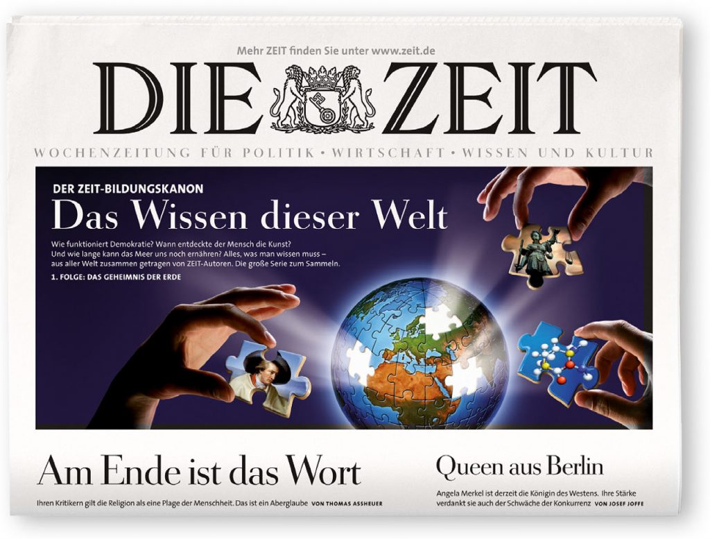 Deckblatt für DIE ZEIT