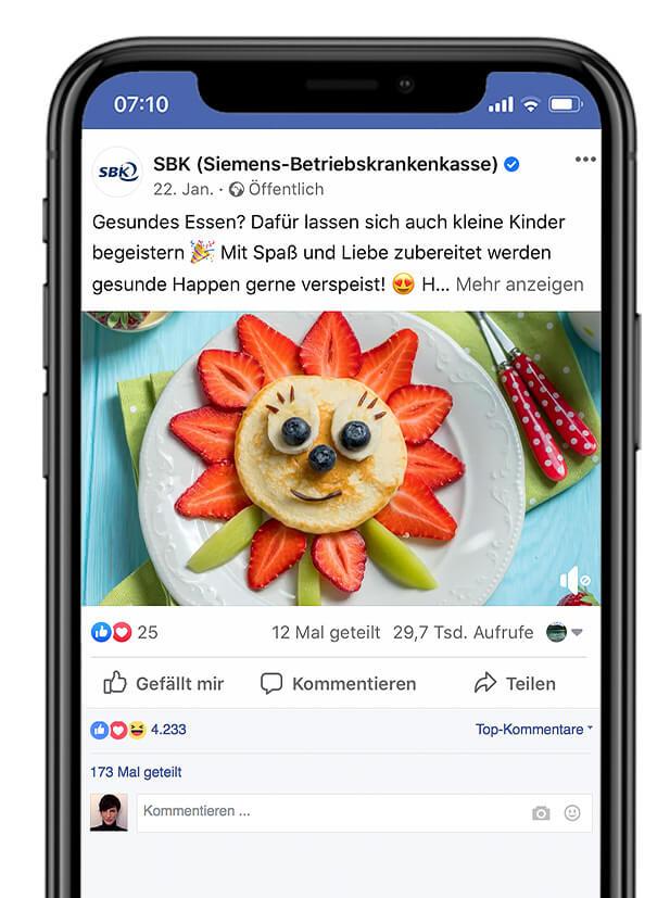 SBK - Siemens Betriebskrankenkasse Facebook
